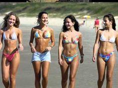 Before you start choosing your pubic hair cut method, just think which style of pubic hair you would like. Pubic hair style is a part of your personality & sexuality. Bikini Babes, Sexy Bikini, Bikini Girls, Bikini Wax, Copacabana Beach, North Carolina Beaches, South Carolina, Mini Bikini, Poses