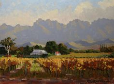 roelof rossouw South Africa, Landscape, Painting, Design, Decor, Art, Art Background, Scenery, Decoration