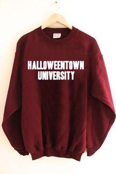 halloweentown university Unisex Sweatshirts size S,M,L,XL,2XL,3XL.They are an original inspired design