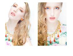 Rocaille necklace & earrings  (photo by Matthew Burditt)  http://www.rocaille-design.com