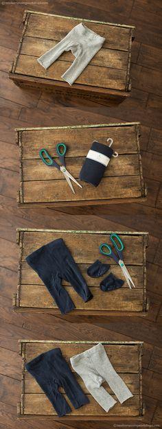 newborn pants tutorial