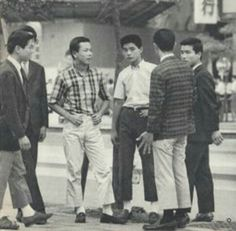 Miyuki Zoku were the first Japanese youth to adopt the Ivy look in 1964, taking their name from their supply shops on Miyuki Street in Tokyo's upmarket Ginza district