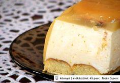 Narancskrém torta sütés nélkül
