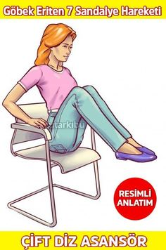 Sandalyede Göbek Eritme Hareketleri 2