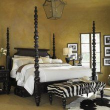 Tommy Bahama Home Kingstown Sovereign Poster King Size Bed by Lexington Home Brands