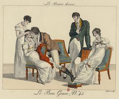 Le Bon Genre 45  I've read of a game that seems similar to this illustration. You had to either guess what orwho you were kissing, or a blindfolded person call out things for someone to kiss.