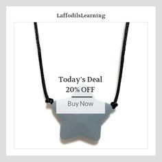 Today Only! 20% OFF this item.  Follow us on Pinterest to be the first to see our exciting Daily Deals. Today's Product: Sensory Necklace, Chew Necklace for Children, Silicone Sensory Necklace, Autism, Sensory Processing Disorder, Teether, Chewlery Buy now: https://www.etsy.com/listing/490633415?utm_source=Pinterest&utm_medium=Orangetwig_Marketing&utm_campaign=Daily%20Deal #etsy #etsyseller #etsyshop #etsylove #etsyfinds #etsygifts #musthave #loveit #instacool #shop #shopping #onlineshopping…