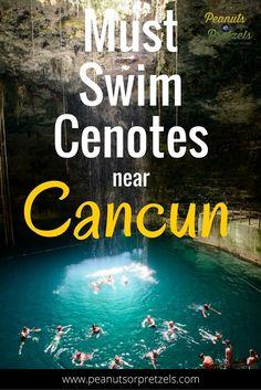 cenotes near cancun pin, cancun cenotes, cenotes cancun, yucatan cenotes, swim in a cenotes