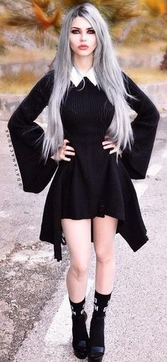Dayana Crunk                                                                                                                                                                                 More #GothicFashion