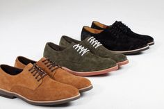 Amsterdam Shoe Co. 5 Eyelet Derby Shoe for Fall 2012