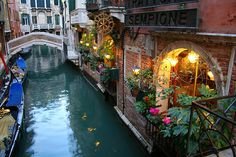 Trattoria Sempione, Venice, Italy...I need to locate this restaurant next time I find myself in Venice!