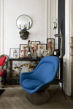 Blue chair * Interiors Interiors * The Inner Interiorista