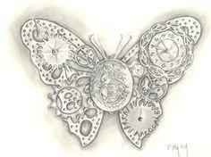 steampunk tattoos | deviantART: More Like Henna owl 2 by ~Mymy-La-Patate