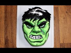this is what my future little boy will have Hulk Cakes, 3d Cakes, Cupcake Cakes, Marvel Cake, Incredible Hulk, Amazing, Birthday Parties, 10th Birthday, Hulk Smash