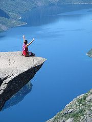 The new Trolltunga Trek. First alternative route to The Troll's Tongue. Vacation Trips, Vacations, Troll, Norway, Travel Tips, Alternative, Day, Water, Outdoor