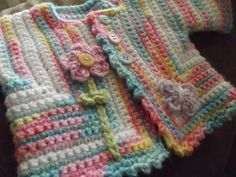 baby sweater.. free crochet pattern