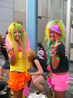 Look Like a Ganguro Girl