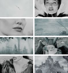 Maleficent: i had wings once, and they were strong.       but they were s t o l e n from me.