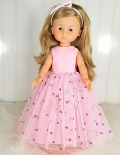 Valentine Corolle Les Cheries Doll Clothes Dress by LittleNoel