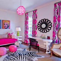 teen girls bedroom ideas, Funky