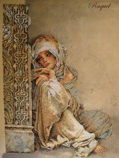 Arabian woman de Lanarte