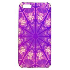 Fairy Lace Mandala Delicate Abstract Cream Violet iPhone 5C Cover