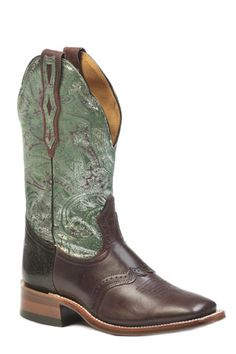 Boulet Catalogue Ladies Wide Square Toe Stockman heel Style #0129