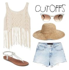 """""""Cutoffs"""" by mareehamasood246 on Polyvore featuring Alexander Wang, Apt. 9, Gucci, Nordstrom, jeanshorts, denimshorts and cutoffs"""