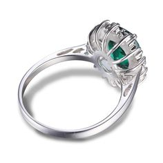 Hot Girls Emerald Ring Cocktail 925 Sterling Silver Free Shipping Only $29.99 => Save up to 60% and Free Shipping => Order Now! #Bracelets #Mystic Topaz #Earrings #Clip Earrings #Emerald #Necklaces #Rings #Stud Earrings