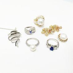 #스파클링솔 #여름신상품 #쥬얼리 #진주반지 #다이아몬드