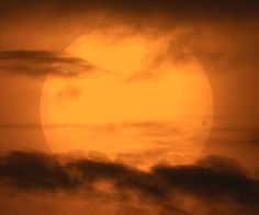 The rare transit of Venus across the face of the Sun in 2004 was one of the better-photographed events in sky history