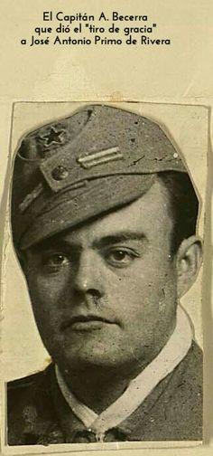 El capitán A. Becerra más datos en la foto
