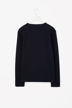 COS | Square-neck ribbed top