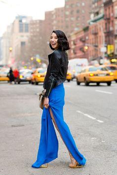New York Fashion Week - street chic