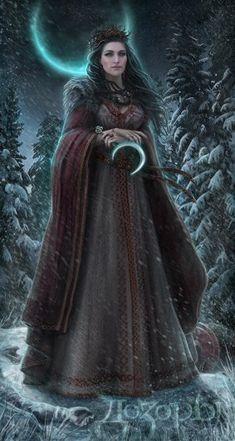 Fantasy Inspiration, Character Inspiration, Character Art, Fantasy Comics, Fantasy Art, Eslava, Mother Goddess, Goddess Art, Russian Folk