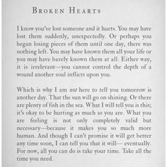 Quotes about heartache and pain