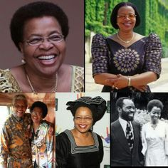 """❤ My WCW ❤ Graca Machel was married to President Samora Machel of Mozambique who died in a plane crash in 1986. In 1998 she married former president of South Africa-Nelson Mandela . Graca is in the Guinness Book of record for being the 1st Woman to be """"First Lady in two different Countries.  #salute"""