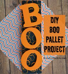 DIY Boo Pallet Project