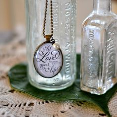 Let Love Guide Necklace by PearlsnJoy on Etsy, $25.00