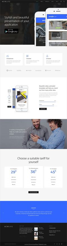 Newlife is a creative and modern design 10in1 responsive #WordPress theme for #app showcase website to showcase your business, agency, portfolio or blogging download now➩ https://themeforest.net/item/newlife-creative-corporate-wordpress-theme/19470392?ref=Datasata