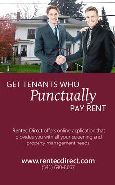 Tenant screening can tell you a lot about a prospective tenants bill paying habits.
