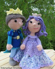 oneandtwocompany:: And Tristan met Rose  A great work of Shannon from CitrusSun Crochet. I love it  #crochet #crochetpattern #crochetaddict #ravelry #etsy #etsyseller #etsyshop #ilovecrochet #instacrochet #crochetersofinstagram #oneandtwocompany #prince #princess #tale #instamigurumi #amigurumipattern #amigurumi #amigurumidoll
