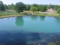 Mammoth Springs, AR.  A beautiful place.  Take a walk around the lake and breath the fresh air.