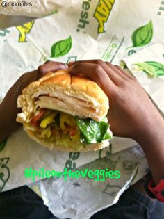 Win a $25 #SUBWAY gift card  $50 Fandango gift card from #momfiles and #PileOnTheVeggies