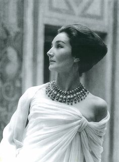 Jacqueline de Ribes in Christian Dior, 1959.