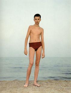 Odessa, Ukraine, August 4, 1993. Courtesy the artist and Marian Goodman Gallery, New York & Paris; © Rineke Dijkstra