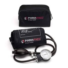 Professional Manual Blood Pressure Cuff – Aneroid Sphygmomanometer with Durable Carrying Case by Paramed – Lifetime Calibration for Accurate Readings – Black - Health Central Products Directory Natural Blood Pressure, Blood Pressure Chart, Healthy Blood Pressure, Blood Pressure Remedies, Lower Blood Pressure, Gestational Hypertension, Pulmonary Hypertension, Young Living, Hacks