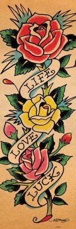 ed hardy tattoo design