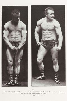 Eugen Sandow was the father of bodybuilding