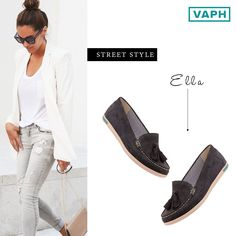 Chic: Elegantly and stylishly fashionable. Ella does a fine job we would say! Shop Ella here: http://bit.ly/1JmRo9A